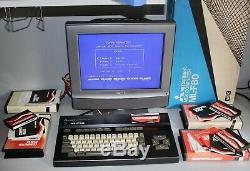 Mitsubishi MSX ML-F80 VINTAGE Home COMPUTER Boxed 64KB Ultra RARE 8bit Not Atari