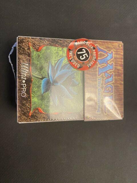 Mtg Ultra Pro Black Lotus Juzam Djinn Deck Box Sleeves Sealed New Vintage 1997