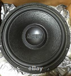 NEW Old School Earthquake 12 Competition Subwoofer, ULTRA Rare, Vintage, USA
