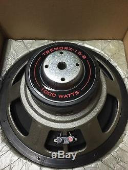 NEW Old School Earthquake 15 Competition Subwoofer, ULTRA Rare, Vintage, USA