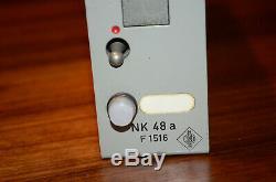 Neumann NK48a vintage ultra RARE Siemens Telefunken V72 condenser microphone