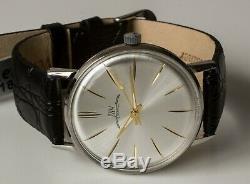 New Old Stock Ultra Slim Ussr Luch Poljot De Luxe Wrist Watch 2209 Movement Rare