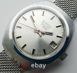 New Ultra Rare Vintage Old Stock Poljot Exacta Mechanical Watch 2614 Movement