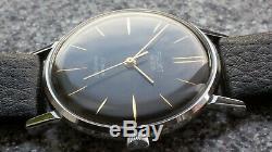New Ultra Slim Ussr Made Poljot De Luxe Wrist Watch 2209 Movement Rare