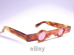 New Vintage Alain Mikli Am 89 0155 Tortoise Ultra Rare 1988 Sunglasses France