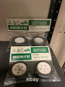Nikko Gig Bison F10 Original Vintage Rear And Front Wheel Set Ultra Rare