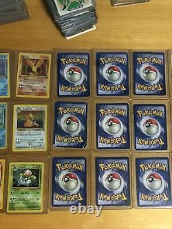 OLD Original Vintage Pokemon 21 Card LOT 1st Edition + Holo + Ultra Rare! Used