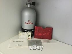 Omega ultra rare vintage seamaster 200 limited full box set automatco idiver