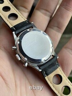 Orologio Watch Gallet Chronograoh Valjoux 7736 Ultra Rare VintAge Swiss Made