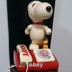 PEANUTS Snoopy Vintage retro telephone Ultra rare 1981made Tamura Electric JAPAN