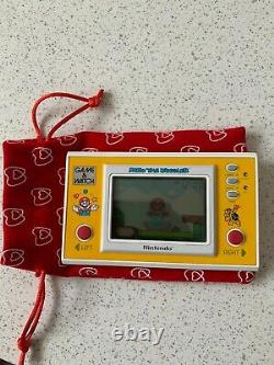PRISTINE Ultra Rare Nintendo Game & Watch Mario The Juggler MB-108 Vintage 1991