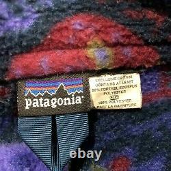Patagonia Ultra Rare 1 Of A Kind Vintage Vest Ocean Life Design (unisex Xs-s)