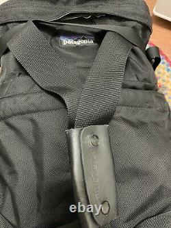 Patagonia Vintage Black Hardtop Two Way Duffel Backpack Bag ULTRA RARE