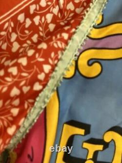 Peter Max 100% Silk Vintage Blouse, Ultra rare