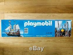 Playmobil 3550 Nuevo Barco Pirata New Pirate Ship Ultra Rare Vintage Neuf