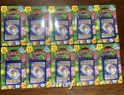 Pokemon 15 Card + Promo 2012 Vintage 10 Pack Lot Holo Possible Charizard NEW