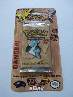 Pokemon Vintage WOTC Ultra RARE Fossil Blister Pack Plz Read Details