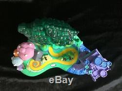Polly Pocket ULTRA RARE WIZARD OF OZ WITH 9 FIGURES ALL LIGHTS WORKING