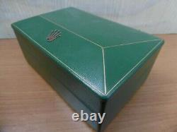 ROLEX Box Very Good Big Triangle Ultra-Rare Vintage 50/60's Scatola Boite
