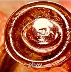 Rare 50s to 70s SHALIMAR Pure Parfum 7.5ml 1/4oz GUERLAIN Tapered Bottle
