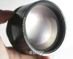 Rare Carl Zeiss Jena F/0,77 50mm 0,77/50 Ultra fast Lens X Ray vintage bright