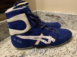 Rare Vintage ASICS Ultra flex XL Dan Gable Wrestling Shoes Size 11 Mint