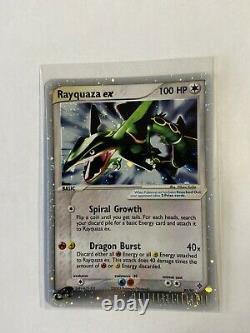 Rayquaza ex 97/97 NM HOLO EX Dragon 2003 Vintage E Reader Ultra Rare MINT