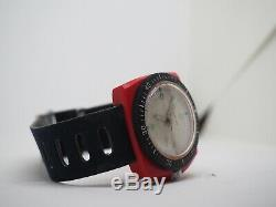 Relay Compressor Diver Mechanical Vintage Very Unusual Watch Swiss Ultra Rare
