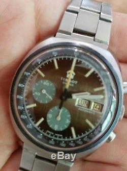 Reloj tissot navigator crono automatico 2920 vintage. Ultra rare model date-day