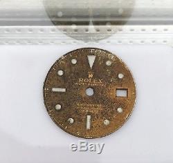 Rolex Gmt Master 1675 GILT OCC DIAL vintage Ultra Rare
