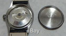 Rolex Oyster Perpetual Bubbleback Ultra Rare Model 6332 SS Mens Watch c. 1954
