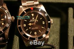 Rolex Vintage Submariner 6536 James Bond Iii-1955 Ultra Rare Explorer Dial 3-6-9