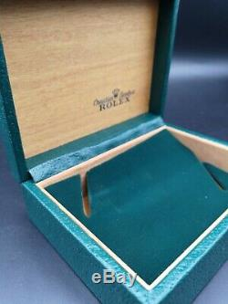 Rolex box scatola vintage anni 70 ultra rare! Perfect conditions perfetta