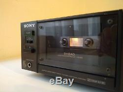 SONY TC-K777ESII 3 HEAD EXTRA ULTRA RARE VINTAGE AUDIOPHILE Cassette Deck