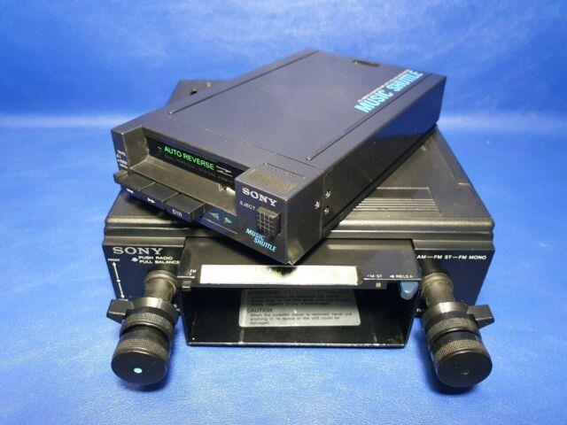Sony Xrm 11 Music Shuttle Walkman Car Radio Stereo Vintage Ultra Rare