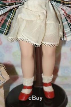 STUNNING! ULTRA RARE! Vintage 14 Sweet Sue Hard Plastic Strung Doll All Origina
