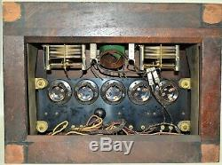 SUPER ULTRA RARE Antique Vintage 1926 Delano Sheraton Radio Modernola Co