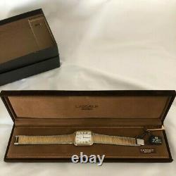 Seiko Lassale Gold & Silver Tone Ultra Slim Men 4.5mm Watch Vintage Rare BNWT