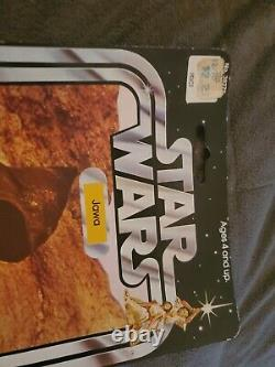 Star Wars Vintage 12 Back Vinyl Cape Jawa no punch out ultra RARE dont miss NICE