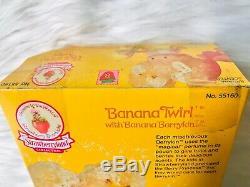 Strawberry Shortcake Banana Twirl Berrykin Ultra Rare Vintage NRFB