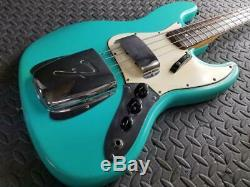 Stunning Collector Vintage 1965 Fender Jazz Bass Daphne Blue Ultra Rare Colorwow