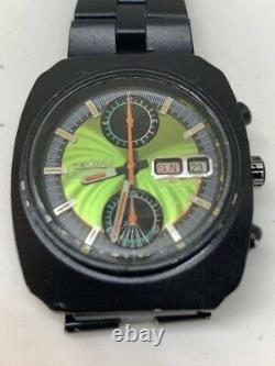 Stunning Ultra Rare One Off, Automatic Vintage Citizen Chronograph Monaco 1970s