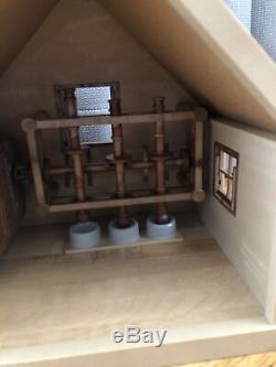 Sylvanian Families Ultra Rare Japanese Vintage Watermill
