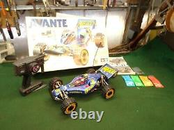 Tamiya Avante 1988 Vintage and Rare 58072 Shelf Queen w' Box & Radio Incredible