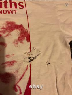 The Smiths ULTRA RARE ORIGINAL shirt Blow up. Vintage. No bootleg MORRISSEY