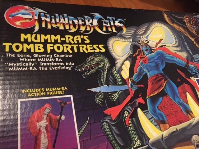 Thundercats Vintage Mumm-ras Tomb Fortress Playset Mib 80s Toy Ultra Rare