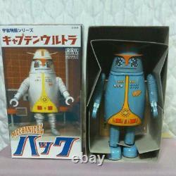 Tin Toy Biriken Shokai Captain Ultra Hack Mechanical Robot Vintage Japan Rare