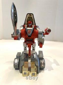 Transformers g1 Dinobots Red Face Slag Canadian vintage 1985 Ultra Rare