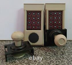 Two Controller & Two Attachable Joystick For Intellivision II Vintage Ultra Rare