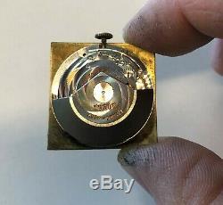 ULTRA RARE 18k Gold 1967 Rolex Tudor Prince Date Square Face Wristwatch 532991